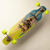 Sarai - Longboard Cruiser Carver - my board is longer ...2